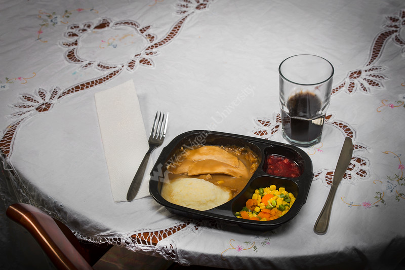 Photo illustration depicting loneliness resulting bad dietary habits and the relationship to Chronic Disease management. Photo Greg Ellis