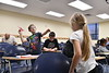 """The """"Hour of Code"""" event facilited by the Department of Physics and Astronomy with the help of elementary teachers from around the state engage the public with coding activities, tutorials and lectures to celebrate computers science and demistify code in White Hall December 1st, 2018.  Photo Brian Persinger"""