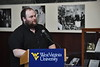 A Celebration of West Virginia University and West Virginia Authors is hosted by Karen Diaz, Dean of Libraries in Wise Library December 7th, 2018.  Photo Brian Persinger