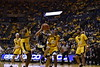 WVU Men's Basketball played Pitt on December 8, 2018 in the Coliseum. The Mountaineers won the Backyard Brawl 69-59.