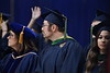 Staff, students and faculty celebrate December Commencement in the Coliseum December 15th, 2018.  Photo Brian Persinger