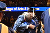 WVU graduates from the Eberly College of Arts and Science and the John Chambers College of Business and Economics convene with their families and faculty for the December 2018 Commencement at the WVU Coliseum , December 12, 2018. Photo Greg Ellis