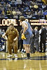 WVU Men's Basketball faced off against the Kansas State Wildcats on February 3, 2018. The Mountaineers won 89-51 in a strong offensive performance.
