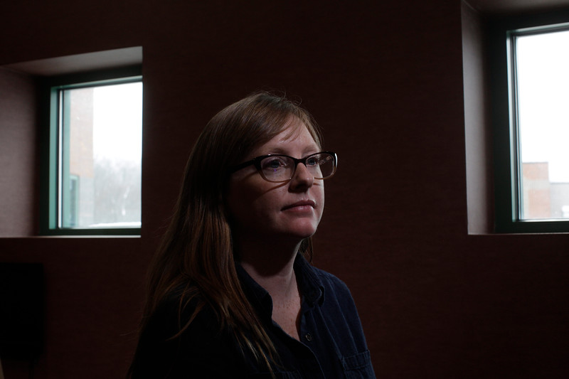 Cassie Leonard<br /> 34258 Opioid Researchers<br /> WVU Photo/ Raymond Thompson
