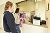 WVU students use the  University Park Retail locations February 9 2018. Photo Greg Ellis