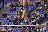The Wrestling and Gymnastics teams participated in the Beaty and the Beast event against Pittsburgh and the University of Maryland in the Coliseum on February 18, 2018.