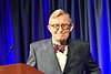 WVU President E. Gordon Gee address faculty, staff, students and the Morgantown community on WVU's leadership for 'purposeful change', at Erickson Alumni Center February 27, 2018. Photo Greg Ellis