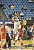 The Mountaineers faced off against Iowa State at the Coliseum on January 7, 2018. WVU won the game in the final minutes 62-55.