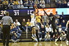 Men's Basketball faced off against the Baylor Bears in Morgantown on January 9, 2017. The Mountaineers beat the Bears 57-54 with a last minute shot from point guard Jevon Carter.