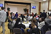 A celebration of Martin Luther King Jr.'s life took place at the The Martin Luther King Jr. Unity Breakfast was held in the Mountainlair Ballrooms on January 15, 2018.