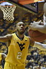 The mountaineers faced off against the Texas Longhorns on January 2, 2018 at the Coliseum. WVU was victorious in a strong offensive performance, final score 86-51.