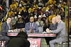 The Mountaineers hosted ESPN's College Game Day in the Coliseum on January 27, 2018. The crew previewed the upcoming game against the Kentucky Wildcats.
