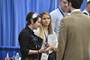 The Statler College of Engineering Career Fair is held in the Rec Center January 31st, 2018.  Photo Brian Persinger