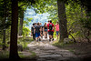 WV 4H Middle school students taking part in the WVU ArgiSTEM Camp held at Coppers Rock State Forest walk to the overlook July 24, 2018. Photo Greg Ellis