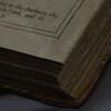 WVU Libraries Rare Book Room<br /> 34756 WVU Shakespeare Folio<br /> WVU Photo/ Raymond Thompson<br /> WVU Magazine