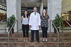 Dentistry Graduates pose for their annual group photo with their professors at the WVU HSC HSC June 19, 2018. Photo Greg Ellis