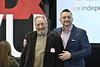 WVU Reed College of Media presents the first WVU TedX talks at the Reed Media Innovation lab Evansdale Crossing March 2 2018. Photo Greg Ellis