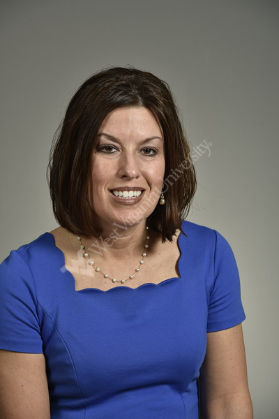 Amy Bush Vice President of Operations and Cardiovascular Services poses for a portrait in the HSC studio March 8, 2018. Photo Greg Ellis