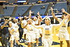 WVU women downs St. Joseph's in WNIT basketball action at the WVU Coliseum March 18; 2018. Photo Greg Ellis