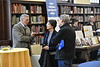 WVU factuality and WVU authors review and reflect on the their 2017 publications in the Milano Reading Room Downtown Campus Library March 3, 2018. Photo Greg Ellis