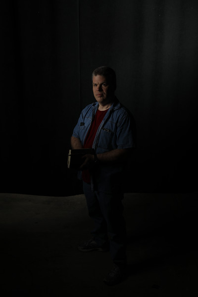 Daniel McTaggert poses for portrait at WVU Studio.<br /> 34546 Daniel McTaggert<br /> WVU Photo/ Raymond Thompson<br /> WVU Magazine
