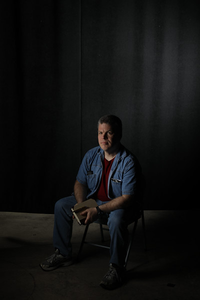 Daniel McTaggert poses for portrait at WVU Studio.<br /> 34546 Daniel McTaggert<br /> WVU Photo/ Raymond Thompson<br /> WVU Magazine