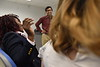 PhD students from the School of Public Health pose for marketing images at the Health Sciences Center May 1st, 2018.  Photo  Brian Persinger