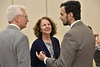 Doctors, faculty and staff members of the WVU Cardiology department participate in the Annual Fellows Banquet Erickson Alumni Center May 3, 2018. Photo Greg Ellis