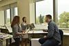 WVU Davis College Landscape Architecture Students interact in a design class May 10, 2018. Photo Greg Ellis