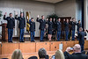 WVU ARMY ROTC cadets are sworn in during their May Commissioning Ceremony in the Mountainlair May 10th, 2018.  Photo Brian Persinger