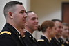 The ARMY ROTC program holds their May Commissioning Ceremony in the Mountainlair May 10th, 2018.  Photo Brian Persinger