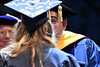 The Davis College of Agriculture, Natural Resrouces and Design hold their Commencement in the Coliseum May 11th, 2018.  Photo Brian Persinger