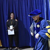 The WVU College of Business and Economics awards its graduates with their degrees May 12, 2018 during their commencement ceremony in the WVU Coliseum.
