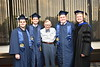 Eberly College U Teach Graduates pose with WVU President E. Gordon Gee at the  2018 Eblery Bachelor Commencement May 13, 2018. Photo Greg Ellis