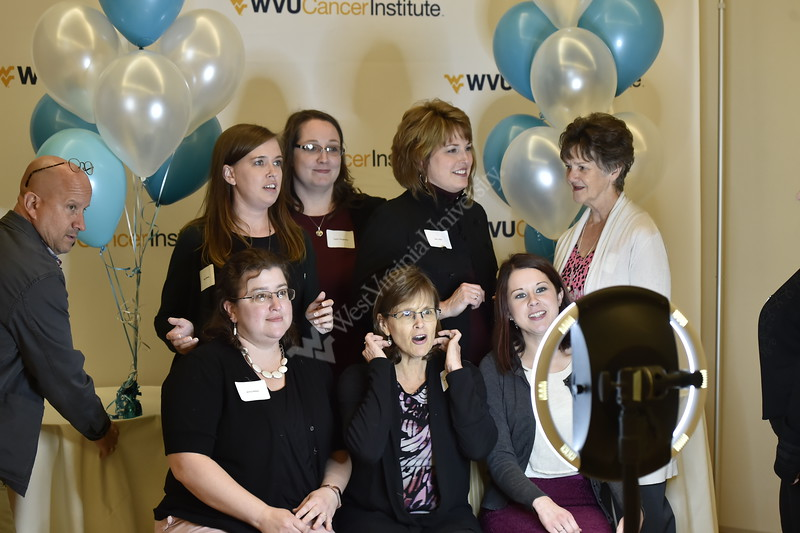 The WVU Cancer Institute held the Shine a Light on Lung Cancer event on November 1, 2018 at the Erickson Alumni Center.