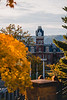 Woodburn Hall in the fall.