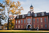 Martin Hall during the fall.