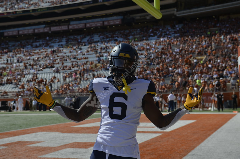The Mountaineers took on the Texas Longhorns in Austin, Texas on November 3, 2018. WVU was victorious 42-41.