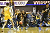 WVU Men's Basketball team action vs Buffalo November 9, 2018. Photo Greg Ellis