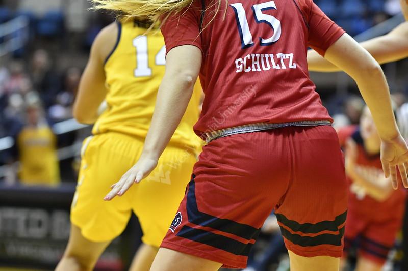 The Womens Basketball team host NJIT at the Coliseum November 11th, 2018.  Photo Brian Persinger