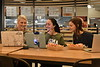 WVU HSC students and staff enjoy the new resturant offerings and social study areas at The Market HSC November 13, 2018. Photo Greg Ellis