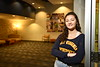 Sydney Keener poses for marketing images in the Visitor Center and Studio at One Waterfront Place November 16th, 2018.  Photo Brian Persinger