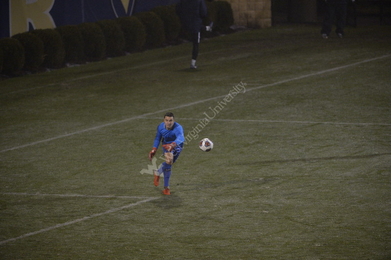 The WVU Men's Soccer team faced off against LIU Brooklyn in the first round of the NCAA Tournament. The Mountaineers won the game 4-2.