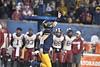 The Mountaineer Football team hosts Oklahoma in Morgantown November 23rd, 2018.  Photo Brian Persinger