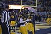 WVU Football played Oklahoma in Morgantown on November 23, 2018. Oklahoma won the game 59-56.