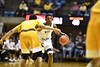 The Mountaineer Basketball Team hosts Valpo at the Coliseum in Morgantown November 24th, 2018.  Photo Brian Persinger