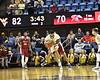 WVU Men's BAsketball action vs. Rider WVU Coliseum November 28, 2018. Photo Greg Ellis