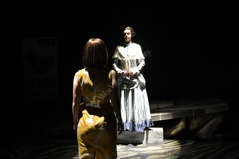 WVU CAC Theather Department students perform in the Play Cloud 9 November 28, 2019. Photo Greg Ellis