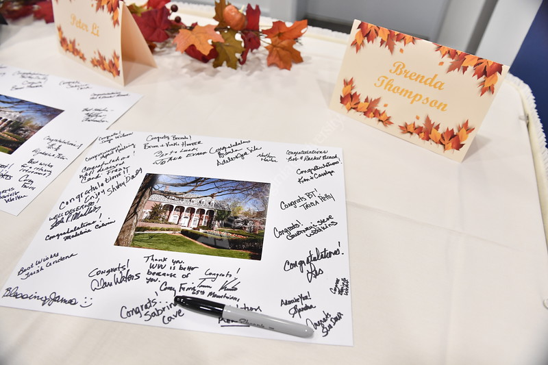 The Divison of Student Life holds their annual Hall of Fame induction ceremony at the Art Museum October 1st, 2018.  Photo Brian Persinger