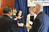 School of Medicine donors interact with their Scholarship recipient at the School of Medicine  Scholarship Luncheon at the Erickson Alumni Center October 5, 2018.  Photo Greg Ellis